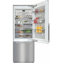 KF 2801 SF MasterCool fridge-freezer For high-end design and technology on a large scale.