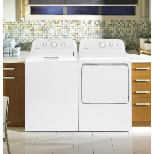 Hotpoint 3.8 cu. ft. Capacity Washer AND 6.2 cu. ft. Capacity Electric Dryer**OPEN BOX ITEM** West Des Moines Location