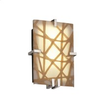Clips Rectangle Wall Sconce (ADA)