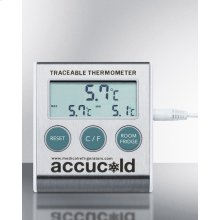 Traceable Thermometer With Nist Calibrated Temperature Readout To the Nearest Tenth of A Degree