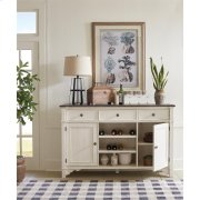 Grand Haven - Buffet - Feathered White/rich Charcoal Finish Product Image