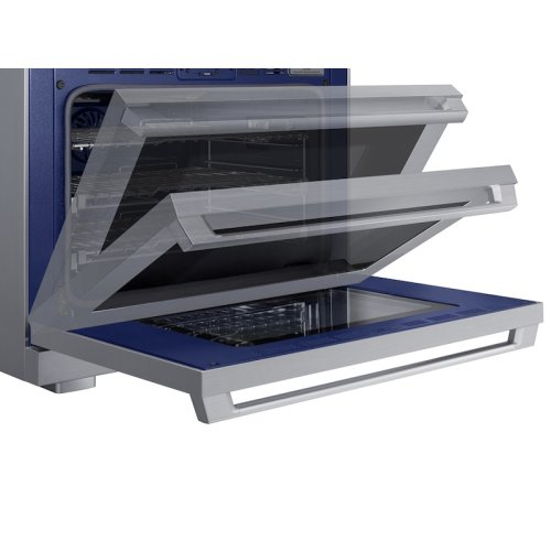 """6.3 cu. ft. 36"""" Chef Collection Professional Dual Fuel Range in Stainless Steel"""