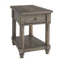 Ashland Chairside Wedge Table