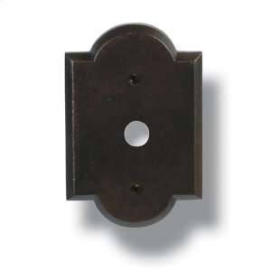 Heritage  Ornate Bell Push Plate Product Image