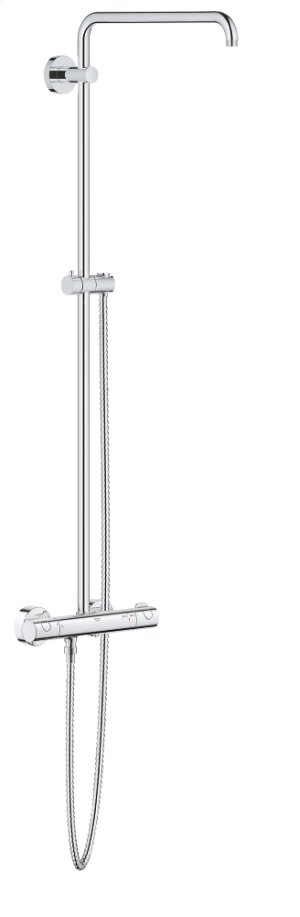 Euphoria System Shower System with Thermostat for Wall Mount Product Image