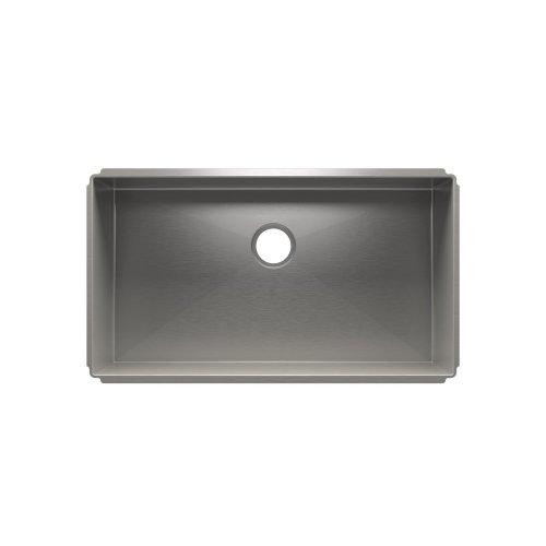 """J7® 003944 - undermount stainless steel Kitchen sink , 33"""" × 18"""" × 10"""""""