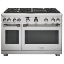 "Monogram 48"" Dual-Fuel Professional Range with 6 Burners and Grill (Natural Gas)"
