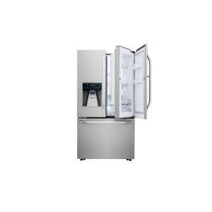 LG STUDIO 24 cu. ft. Smart wi-fi Enabled Door-in-Door® Counter-Depth Refrigerator Product Image