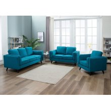 Chelsea Blue Sofa, Love, Chair, U8531