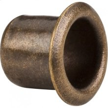 "Antique Brass 1/4"" Grommet for 7 mm Hole"