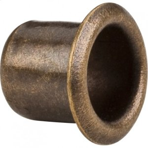 """Antique Brass 1/4"""" Grommet for 7 mm Hole Product Image"""