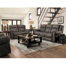 Power Console Loveseat with Power Headrest