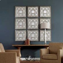 Sorbolo Mirrored Wall Decor, S/2