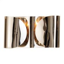 Folded Sconce-Nickel-HW
