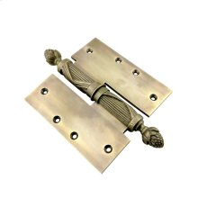 QC-321-Bronzes de France Hinge with Cover Hinges