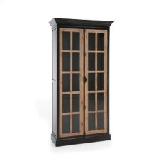 Bella Two Tone Black Cabinet