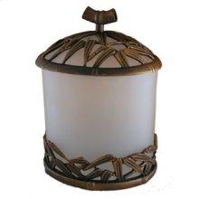 Bamboo Vanity Top Lg. Jar