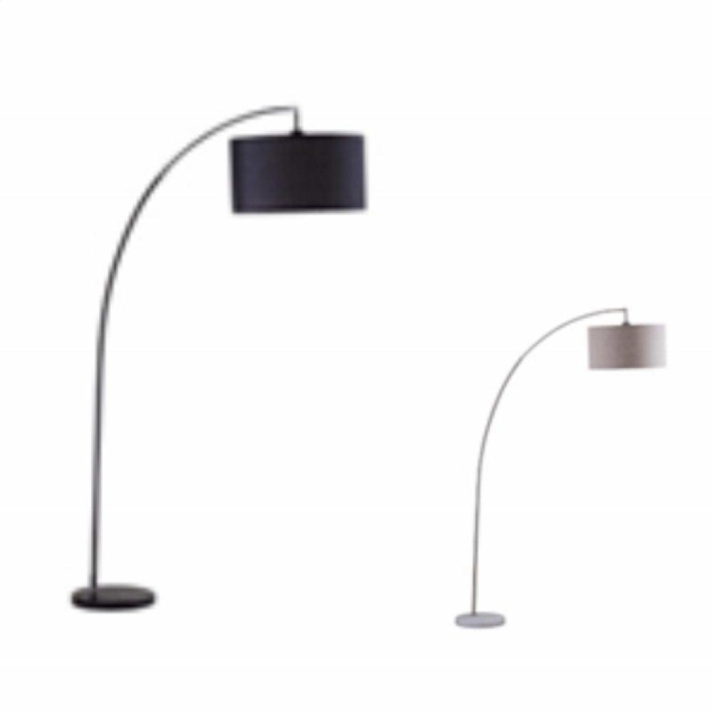 Floor Lamp With Drum