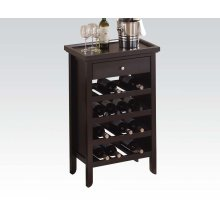 Wine bar w/drawer