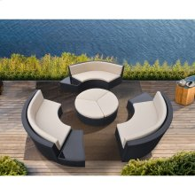 Barbados 9 Piece Wicker Outdoor Patio Set