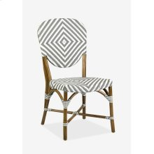Outdoor Hamlet Bistro Chair with Synthetic Wicker - grey wash-Minimum quantity 2(20X24X39)
