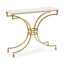 Kara Console Table - Gold