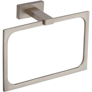 Axel Bath Towel Ring - Brushed Nickel Product Image