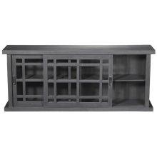 Adesso Large Storage Cabinet - Grey Wash