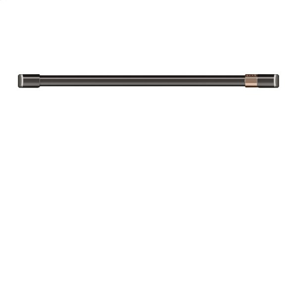 "Café 30"" Single Wall Oven Handle - Brushed Black"