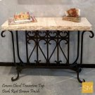 * Travertine Console Table 1213 F Product Image