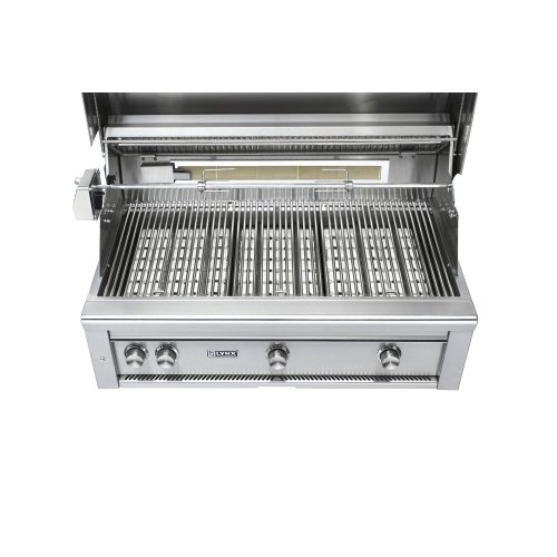 """36"""" Lynx Professional Built In Grill with 3 Ceramic Burners and Rotisserie, NG"""