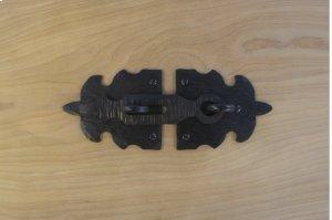 "Black 7"" Furniture Hasp 739794 Product Image"