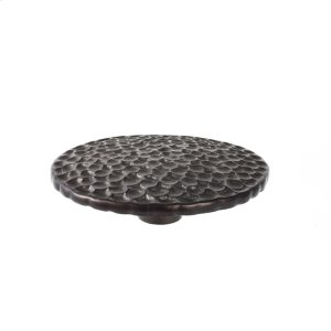Oil Rubbed Bronze Pomegranate Round Knob 4 3/8 Inch Product Image