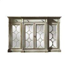 Bahama Sideboard/Curio with Mirror Doors