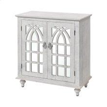 Klein 2-door Cabinet In Distressed White