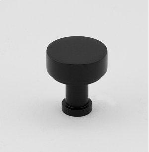 """MODERNE 3/4"""" KNOB A716-34 - Matte Black Product Image"""