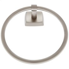 Satin Nickel Serene Towel Ring