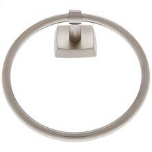 Satin Nickel Serene Towel Ring