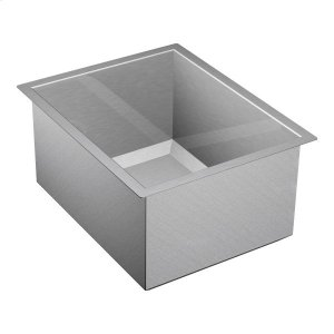 "1600 Series 16""x20"" stainless steel 16 gauge single bowl sink Product Image"