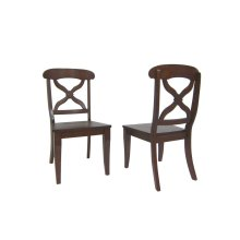 DLU-ADW-C12WD-CT-2  Andrews Dining Chair  Chestnut  Set of 2