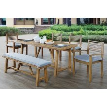 6 Piece Outdoor Dining Set
