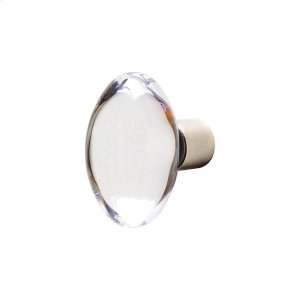Oval Crystal Knob - CK150 Silicon Bronze Brushed Product Image