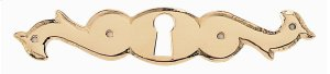 Classic Keyhole Escutcheon for Drawer (horizontal) Product Image