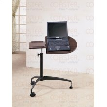 "LAPTOP TABLE,DARK GRAY/W 29-1/2""Lx19""""Wx27-3/4~34"