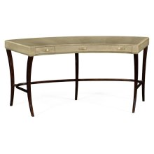 Art Deco Curved Desk with Drawers