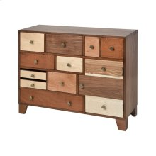 Shiel Chest In Wood Stained Veneers