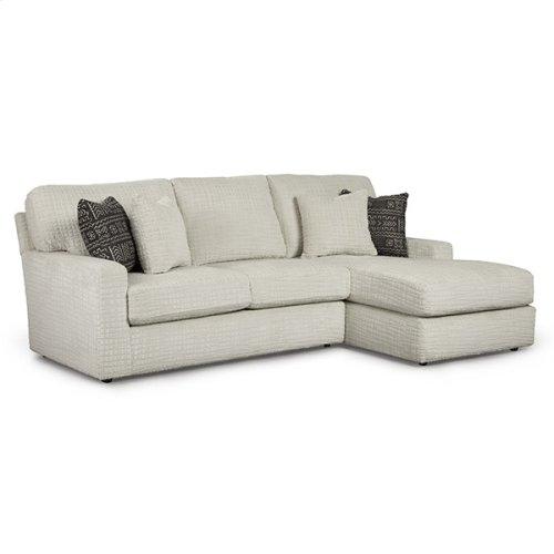 DOVELY SECT. Stationary Sofa