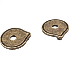 """Pull Escutcheon for 3"""" to 96 mm Cabinet Pull Transition. Sold 2pcs per sealed polybag. For use with 527."""