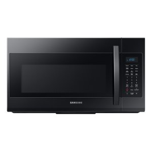 1.9 cu ft Over The Range Microwave with Sensor Cooking in Black Product Image