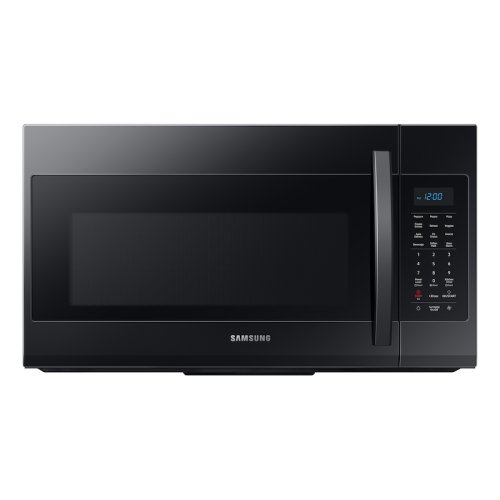1.9 cu ft Over The Range Microwave with Sensor Cooking in Black